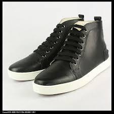 sheepskin fashion sneakers black