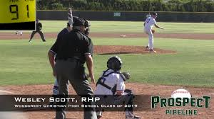 Wesley Scott Prospect Video, RHP, Woodcrest Christian High School ...
