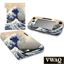 Nintendo Wii U Skin The Great Wave Off Kanagawa Wii U Decal Etsy