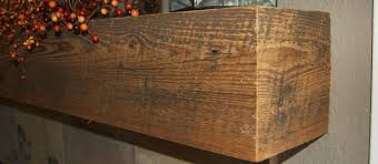 reclaimed wood fireplace mantels with