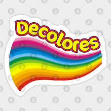 De Colores In Colors Rainbow Rainbow Sticker Teepublic