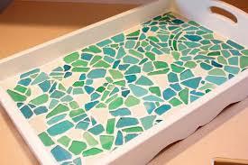 sea glass mosaic