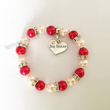 gifts at dawn big sister bracelet with