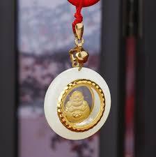buddha jade necklace good luck