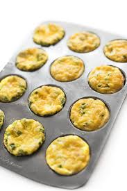 ham and cheese baked egg cups the