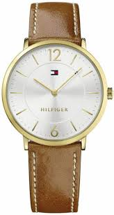 sophisticated light brown leather strap