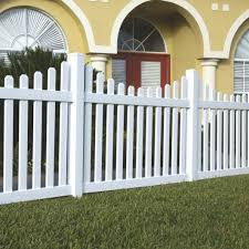 Coventry 4x6 Vinyl Picket Fence Kit Vinyl Fence Freedom Outdoor Living For Lowes
