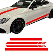 2020 Edition 1 Side Skirt Hood Roof Racing Stripe Vinyl Decal Car Sticker For Mercedes Benz C63 Coupe W205 Amg C200 C43 Accessories From Haoxincar 96 85 Dhgate Com
