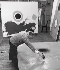 Adolph Gottlieb In His Studio by Fred W. McDarrah