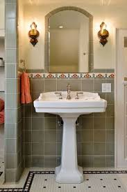 english revival bathroom remodel