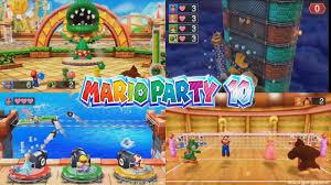 mario party 10 37 minigames boss