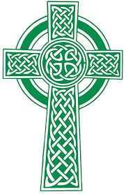 Amazon Com Celtic Knot Cross Wall Decal Light Green 25 H X 16 W Home Kitchen