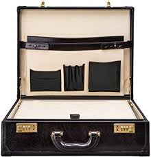 leather attache case