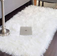 com jtl floorings white fur rug
