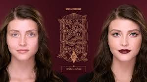 makeup tutorial film noir hollywood