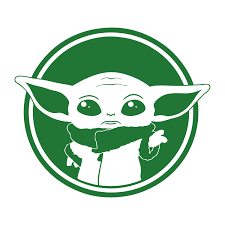 Baby Yoda Stickers Vinyl Decal For Car Wall Laptop Mirrowr Refrigerator Home Window Door Motorcycle Sticker 15 13cm Buy At The Price Of 2 99 In Aliexpress Com Imall Com