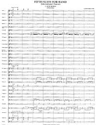 Fifth Suite for Band by Alfred Reed| J.W. Pepper Sheet Music