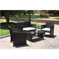 4 piece wicker k d patio rattan outdoor