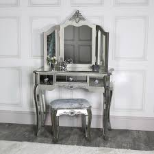 mirrored dressing table set tiffany