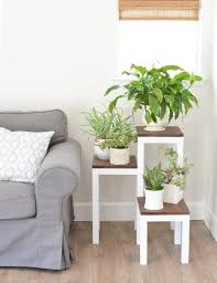 25 diy plant stands with thrift