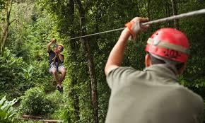 adrenaline rush zip line tours