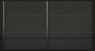 Low Poly Chain Link Fence 3d Model 8 Obj Max Fbx Dae Blend 3ds Free3d