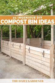 21 Ingenious Diy Compost Bin Ideas You Can Try