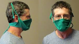 Dust Mask out of a Tee Shirt ...