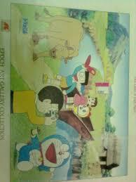 Bộ xếp hình Doraemon 500 mảnh