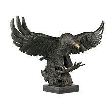 statue sculpture bronze wild animal