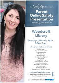 The Carly Ryan foundation - Parent... - Woodcroft-Morphett Vale  Neighbourhood Centre | Facebook