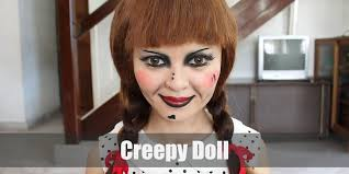 creepy doll costume for cosplay