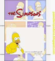 The Simpsons Free Printable Invitations Toppers And Stickers