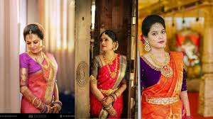south indian bridal makeup for