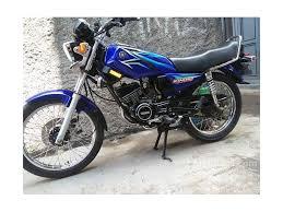 Gambar Motor Rx King Warna Biru