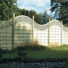 Arched Lattice Top Fence Panel 1 8m Wooden Supplies