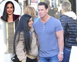 John Cena and GF Shay Shariatzadeh Hold ...