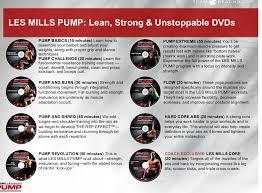 les mills pump pre order review