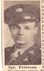 Peterson, Sgt. Donald – RPL's Local History