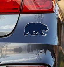 University Of California Berkeley Bear Logo Car Decal Whether You Are In In 2020 University Of California Berkeley University Of California California Golden Bears