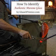 how to identify murano glass