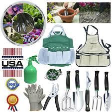 10 pcs garden tools set for women men