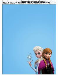 Frozen Tarjetas O Invitaciones Para Imprimir Gratis Frozen