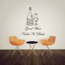 Aw9090 Good Wine Needs No Bush English Quote Wall Stickers Home Decor Removable Diy Red Wine Wall Sticker Wallpaper Stickers For Bedrooms Walls Decals From Fst1688 7 38 Dhgate Com
