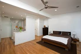 light wood contemporary bedroom