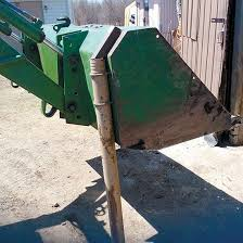 Diy Loader Bucket Fence Post Driver Tools Grit Magazine Steel Fence Posts Steel Fence Tractor Idea