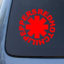 Red Hot Chili Peppers Vinyl Sticker Decal Car Window Vinyl Decal Stick Mymonkeysticker Com