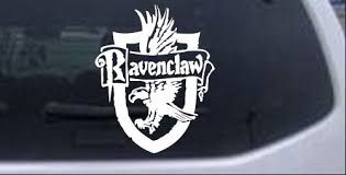 Harry Potter Ravenclaw Crest Car Or Truck Window Decal Sticker Rad Dezigns