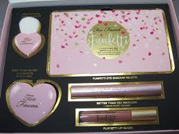 too faced funfetti makeup collection