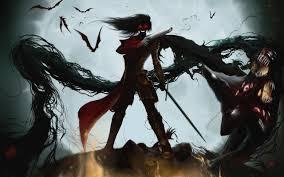 خلفية هيلسينج في نهاية المطاف الرئيسية Alucard مصاص دماء Hd